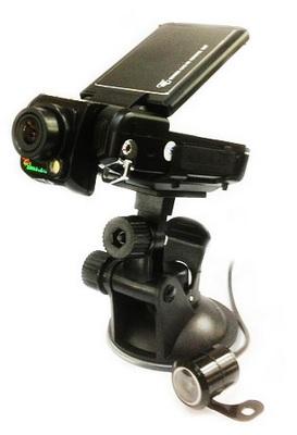 Full HD видеорегистратор с двумя камерами